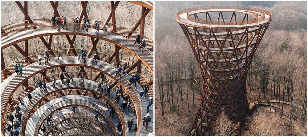 Camp Adventures Forest Tower har öppnat för allmänheten.