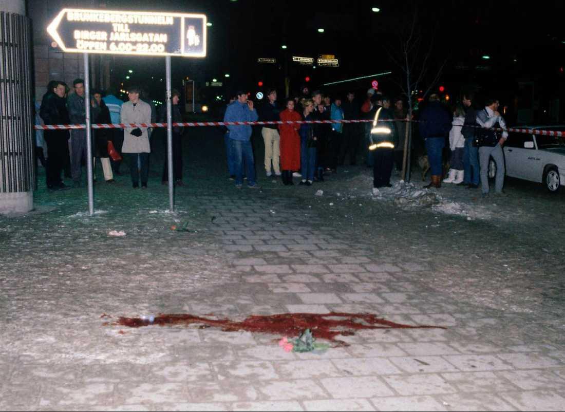 26 år sedan Olof Palme sköts till döds i korsningen Sveavägen–Tunnelgatan efter ett biobesök. Gävlepolisen hörde av sig till utredarna med tips som pekade ut Christer Pettersson, men dessa ignorerades.