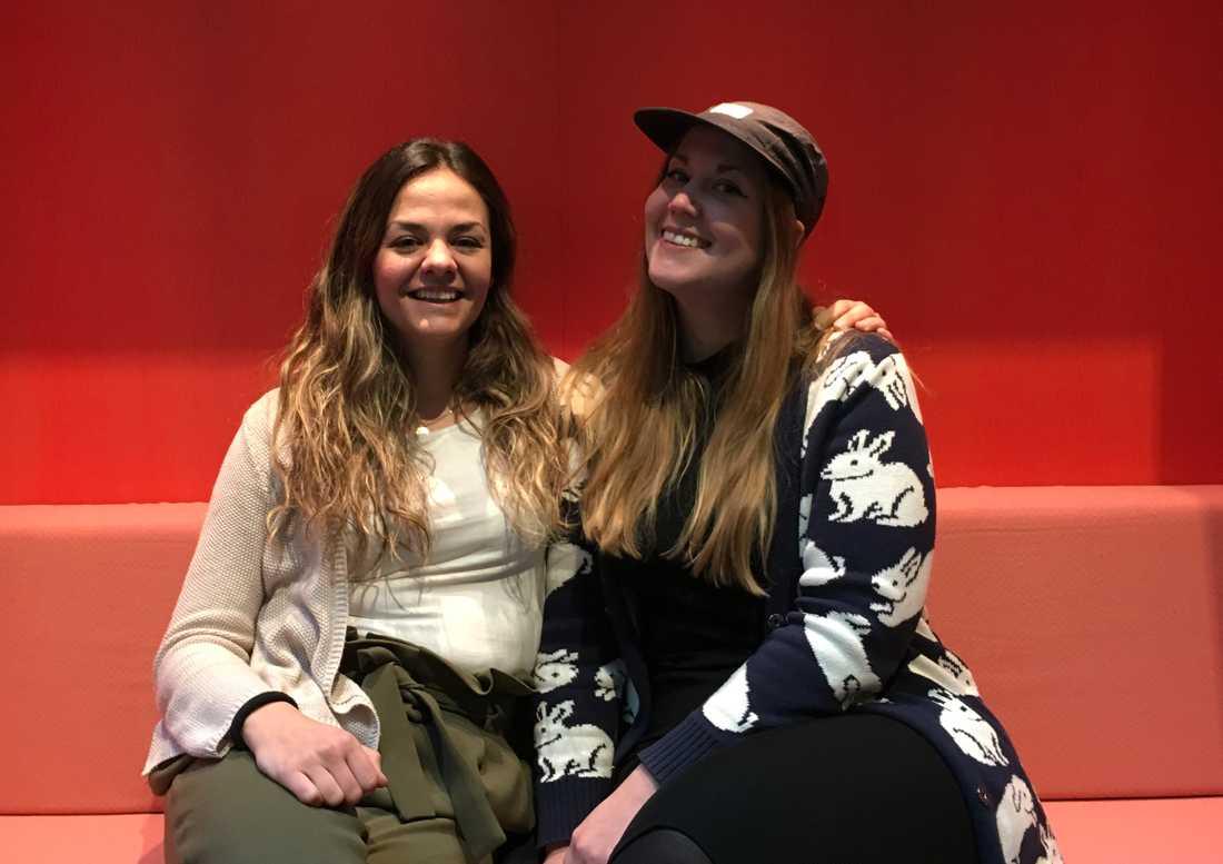 Elhiin och Vedrana har startat en gratis friluftsgrupp för unga tjejer.