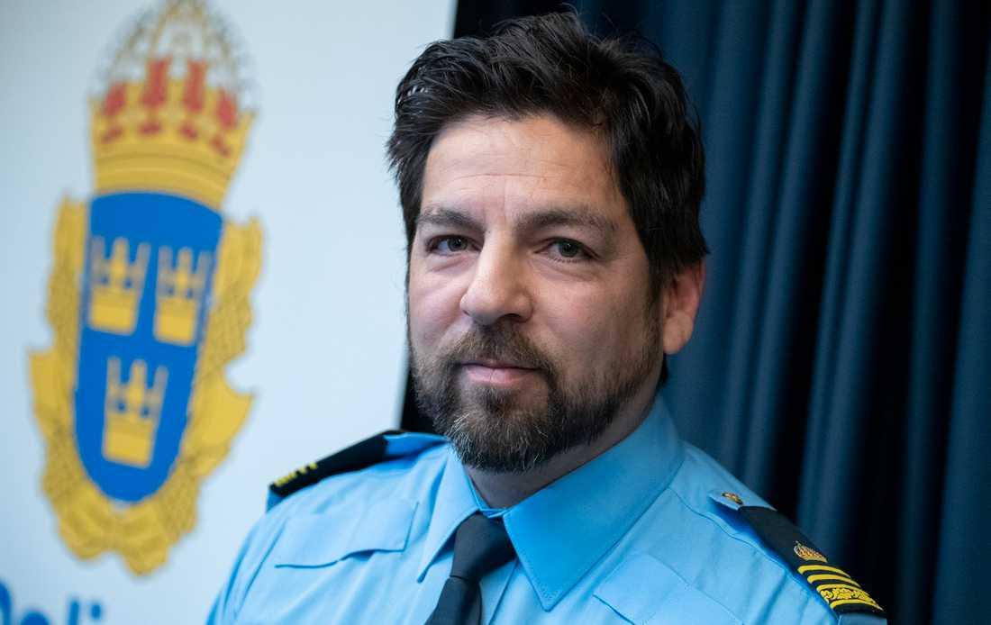 """""""Vi gör alkoholutandningskontroller då misstanke uppstår, inte rutinmässigt, det är det som är den stora skillnaden"""", säger Tobias Bråhammar, kommunpolis i Malmö. Arkivbild."""