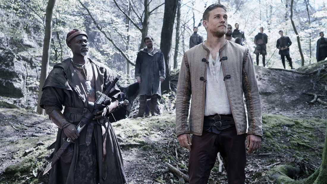 """Ur filmen """"King Arthur""""."""