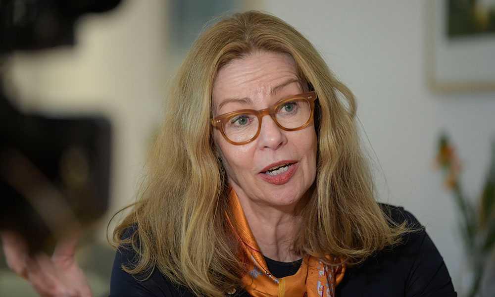 Swedbanks vd Birgitte Bonnesen.