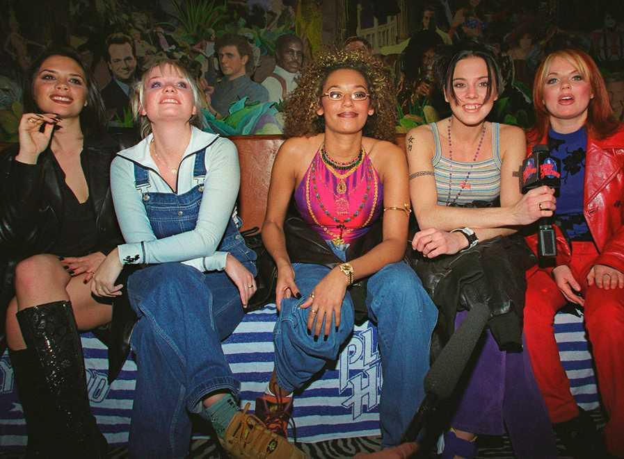 Den färgstarka gruppen i Las Vegas 1997.