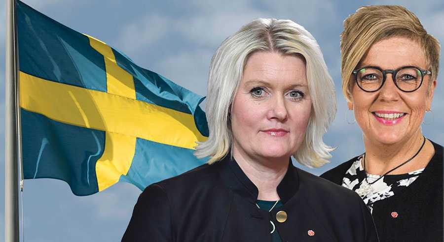 Det gör oss rent ut sagt förbannad att se SD svartmåla det Sverige som de utger sig för att värna, skriver Lena Rådström Baastad och Annelie Karlsson.