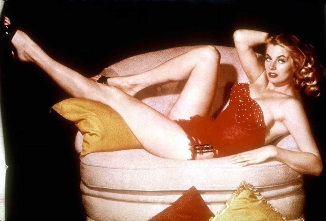 Anita Ekberg, odaterad arkivbild