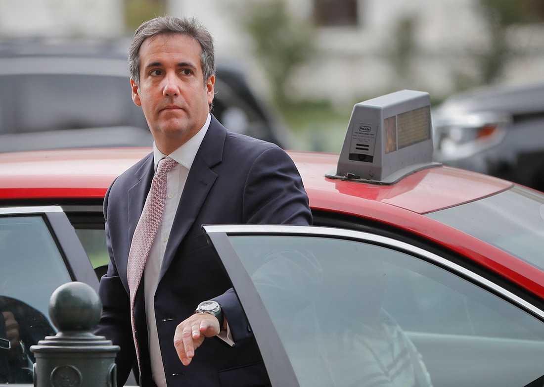 Donald Trumps advokat Michael Cohen.