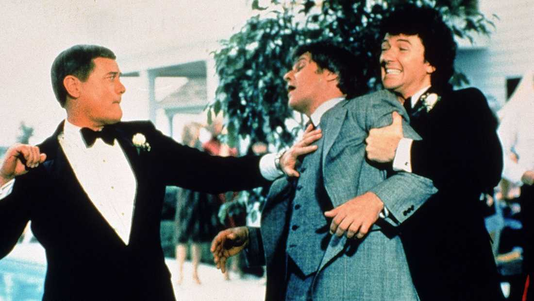 "Larry Hagman, Ken Kercheval och Patrick Duffy i ""Dallas""."