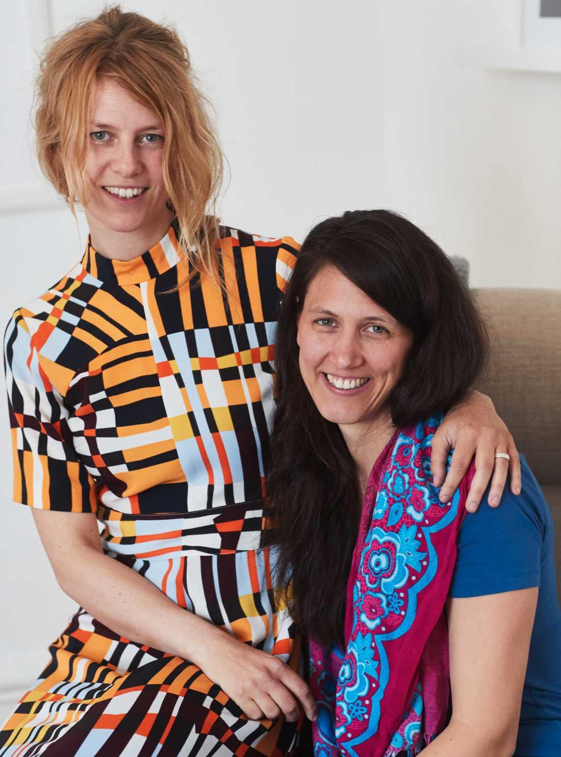 Malin Sandell och Ina Elverljung är bästa vänner och kollegor som båda är högkänsliga.