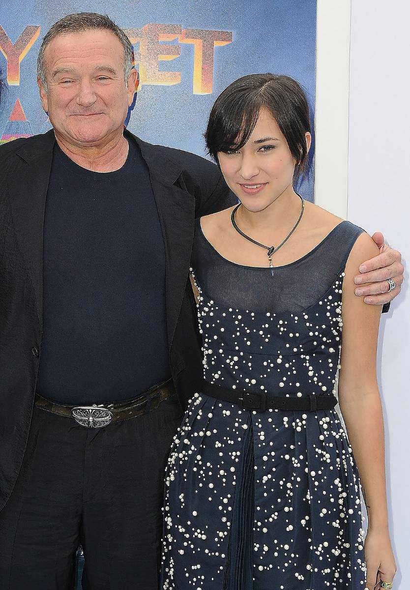 Robin och Zelda Williams.