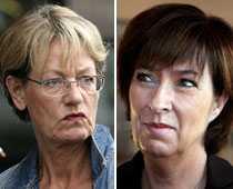 Mona Sahlin tappar väljare på grund av sitt kön, tror Gudrun Schyman.