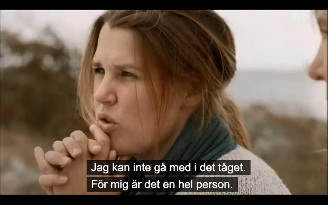 Mia Skäringer, 36, och  Maria Lundqvist diskuterar feminism.