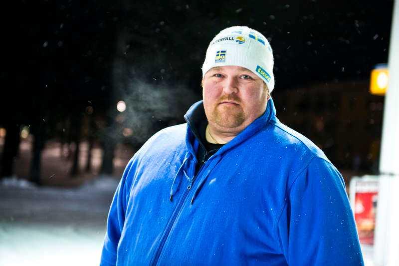 """""""Tankarna går till mannen och hans familj"""", säger Peter Rydfjäll, 43."""
