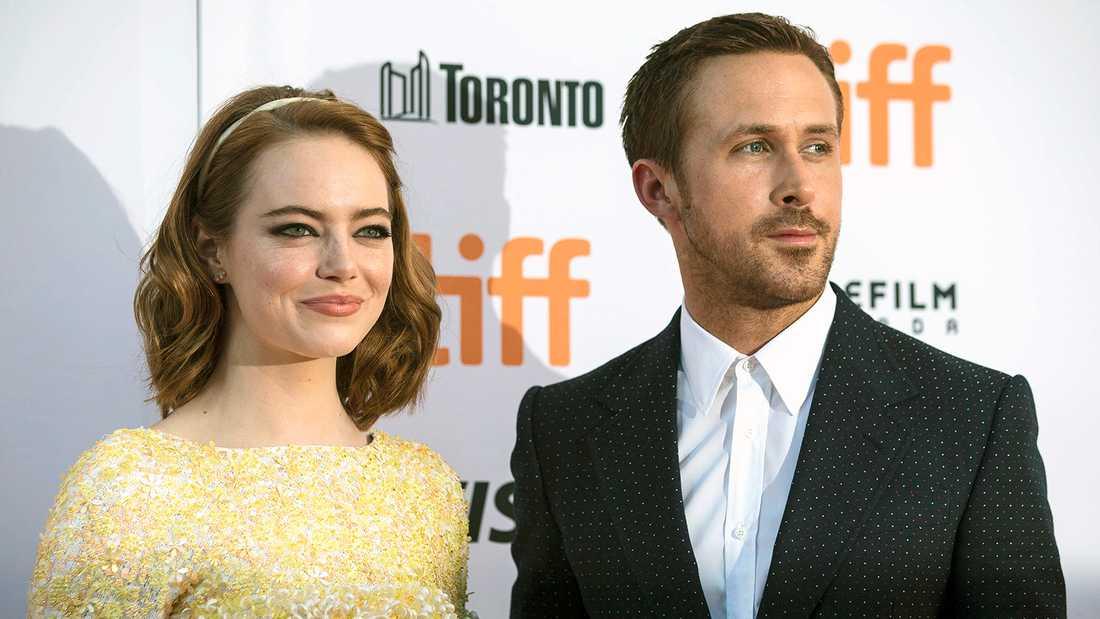 Emma Stone och Ryan Gosling.