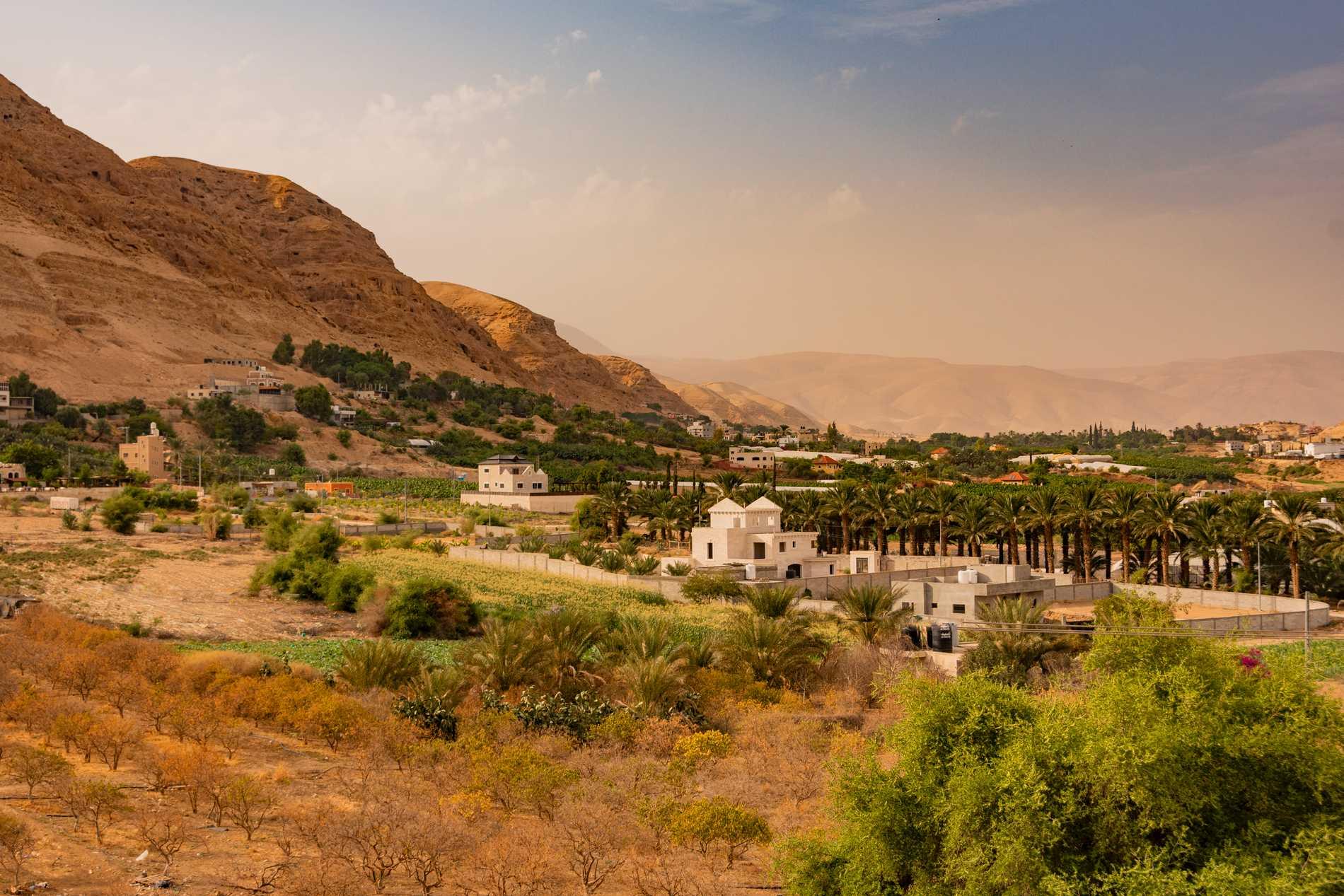 Staden Jeriko nämns bland annat i bibeln.