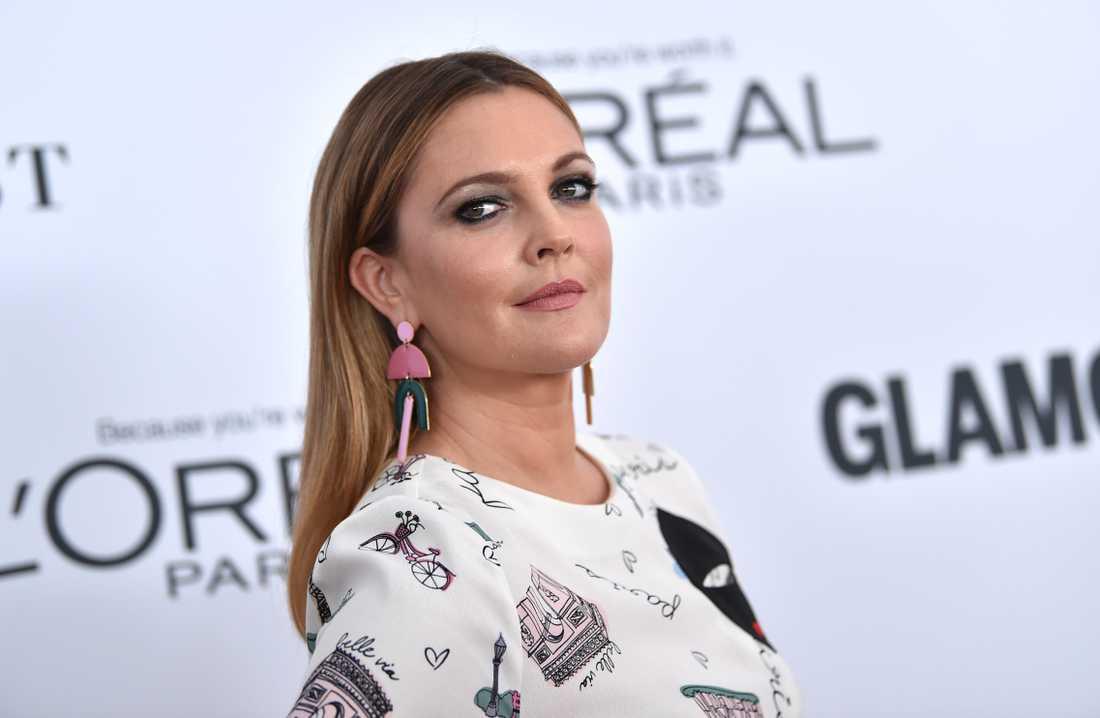 Drew Barrymore skilde sig senast 2016.