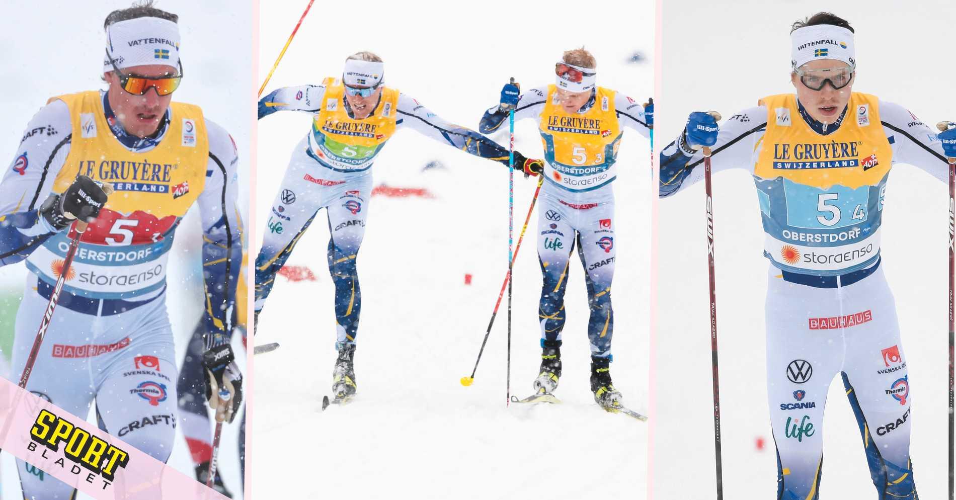 Svensk fjärdeplats i dramatisk stafett