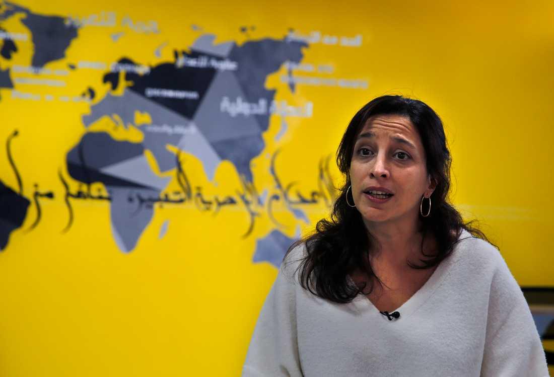 Lynn Maalouf, researchchef för Amnestys i Mellanöstern.