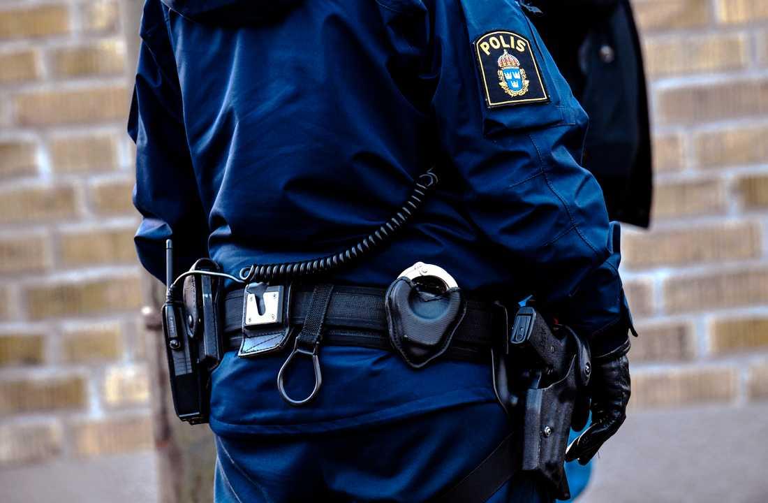 Polisen har gripit två personer misstänkta för ett grovt rån i Barkarby. Arkivbild.