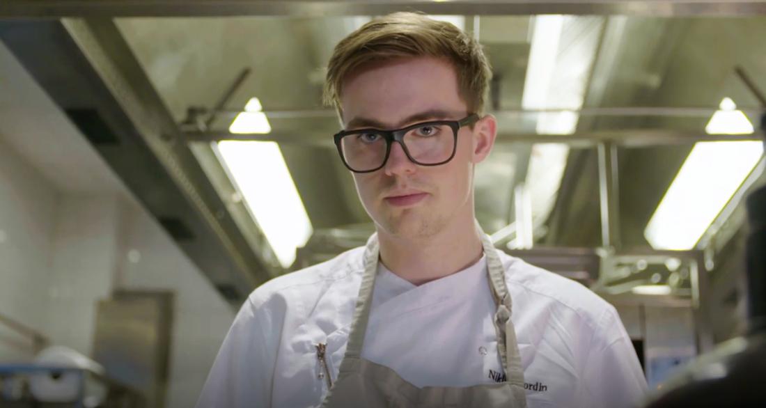 """Niklas Nordin i """"Dessertmästarna"""""""