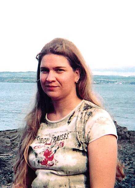 var klippt Hennes hår var avskuret när hon hittades på stranden i Prestwick.