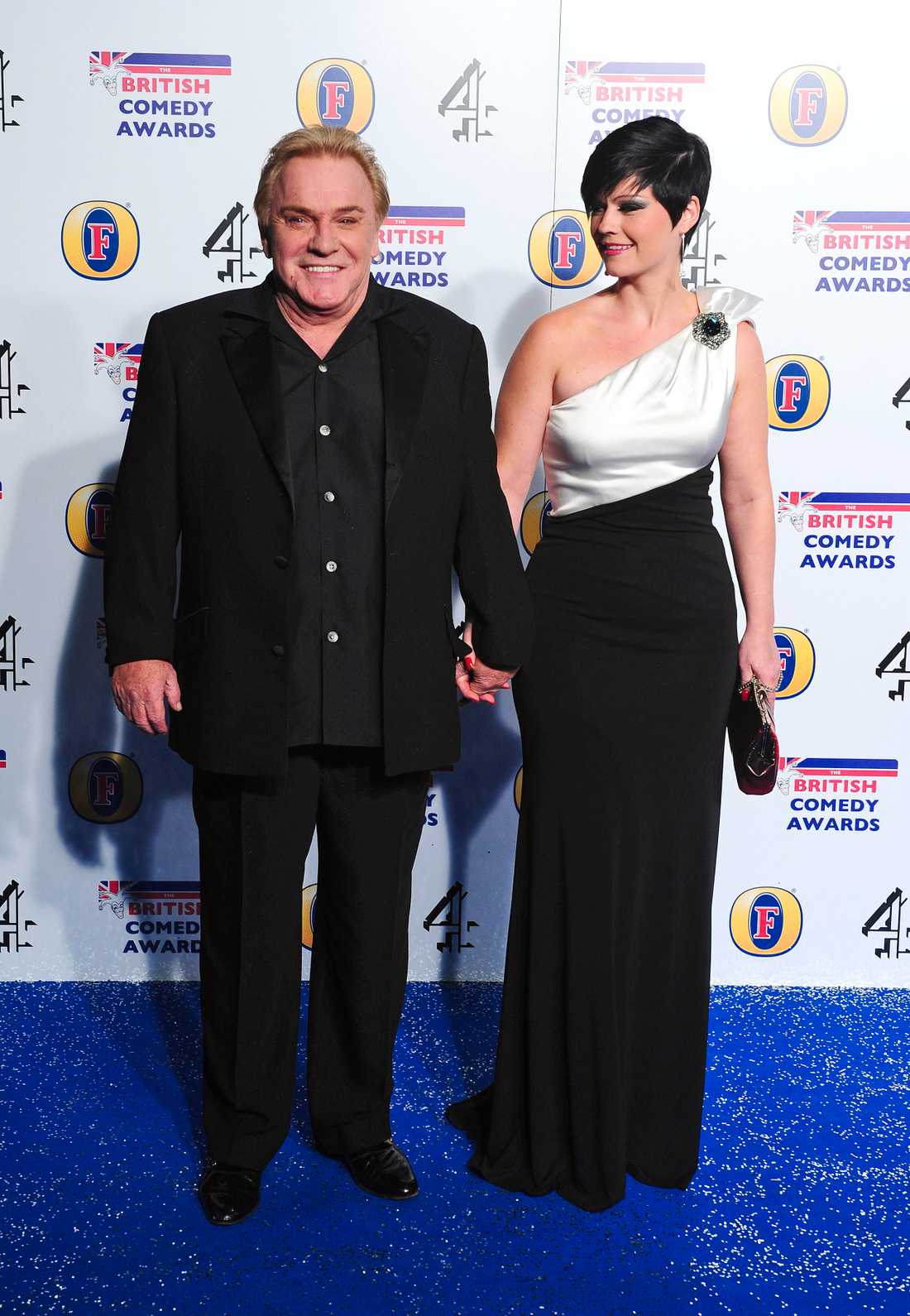 Freddie Starr med frun Sophie Lea Starr