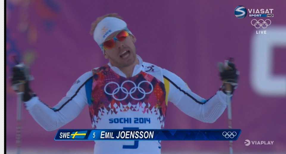 Emil Jönsson – bäst genom tiderna i sprint med sina 13 världscupsegrar – tvjustartar. – Han är övertaggad, säger Viasats expert Emelie Öhrstig.