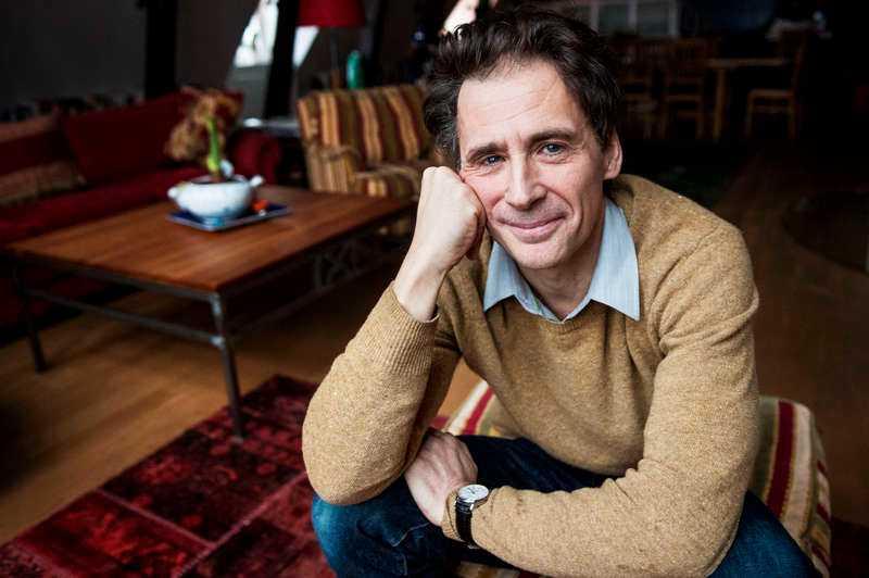 David Lagercrantz, författare.