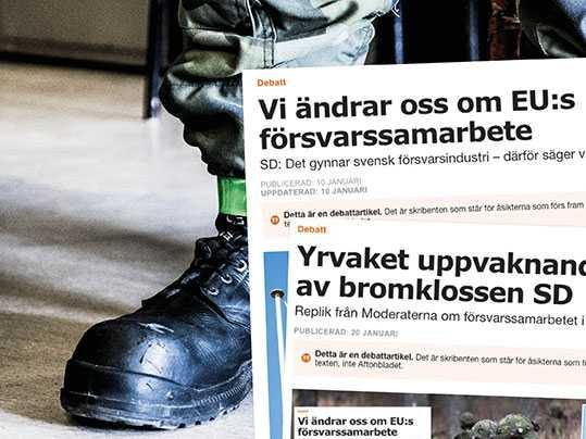 Försvarsindustri   Aftonbladet