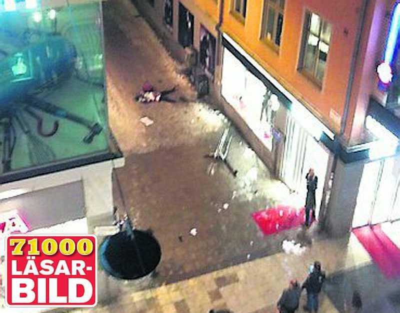 Attentatet vid Drottninggatan i Stockholm.