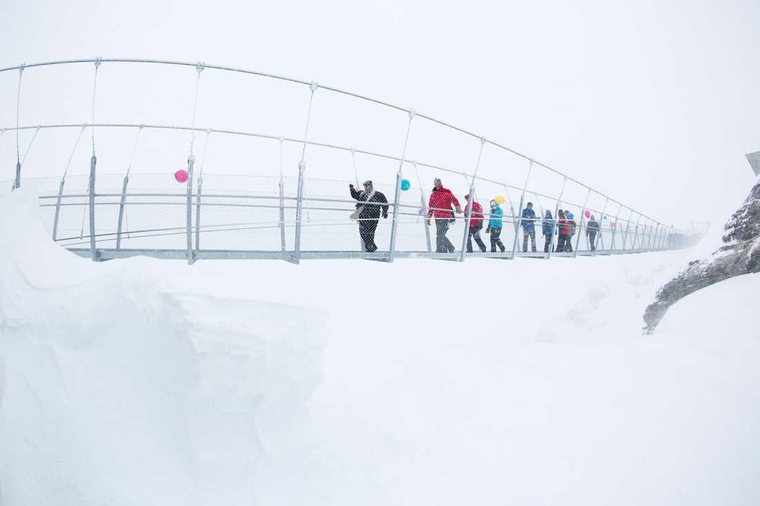 Vintertid riskerar vädret att hindra dig från att njuta av den annars vackra utsikten.