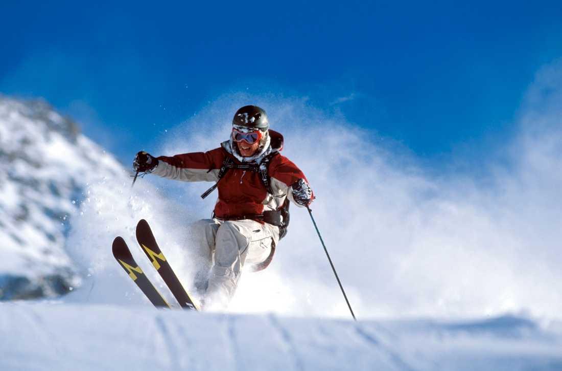 Chamonix lockar skidåkare som är ute efter grym åkning. Och fest.