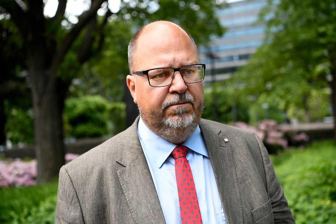 Karl-Petter Thorwaldsson, förbundsordförande LO.