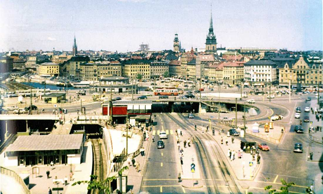 Slussen cirka 1959.