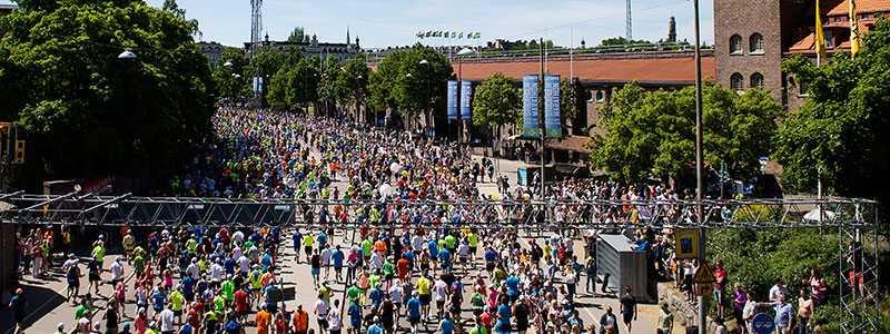 """Stockholm Marathon krockar med Elitloppshelgen i år: """"Finns både för- och nackdelar""""."""