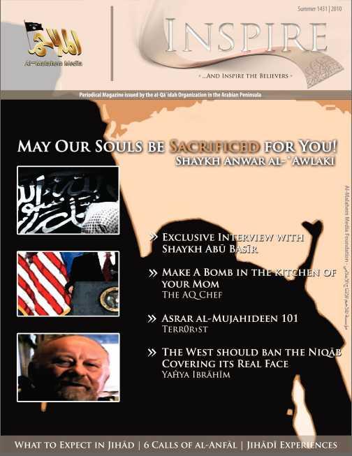 Inspire heter al-Qaidas nya pdf-magasin som riktar sig till engelskspråkiga islamister.