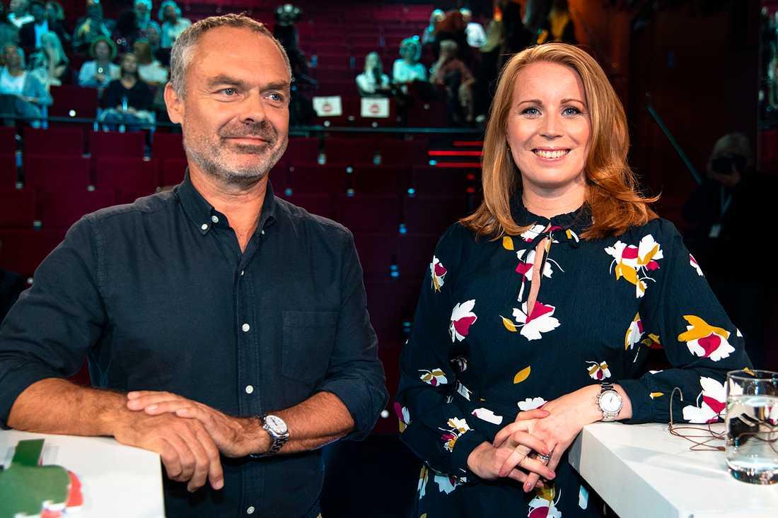 Jan Björklund (L) och Annie Lööf (C).